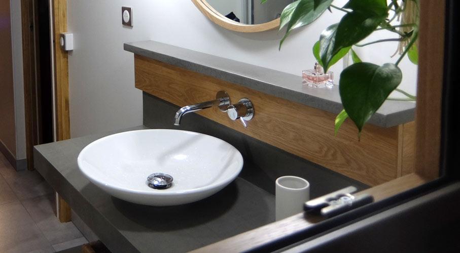 plan beton cire salle bain