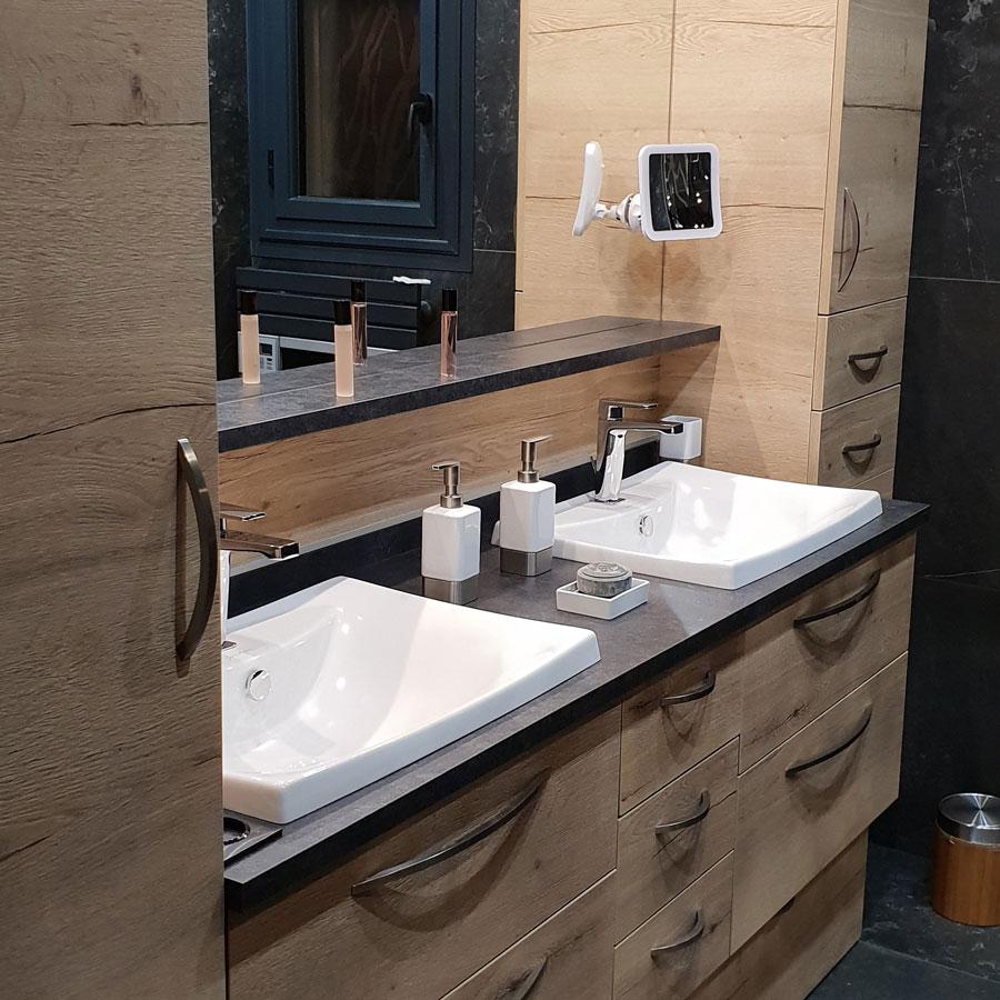 Atlantic Bain Morisseau Vertou oxford solution rangements salle de bains meubles bois