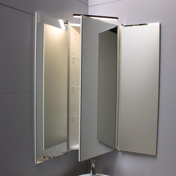 armoire de toilette angle salle de bains