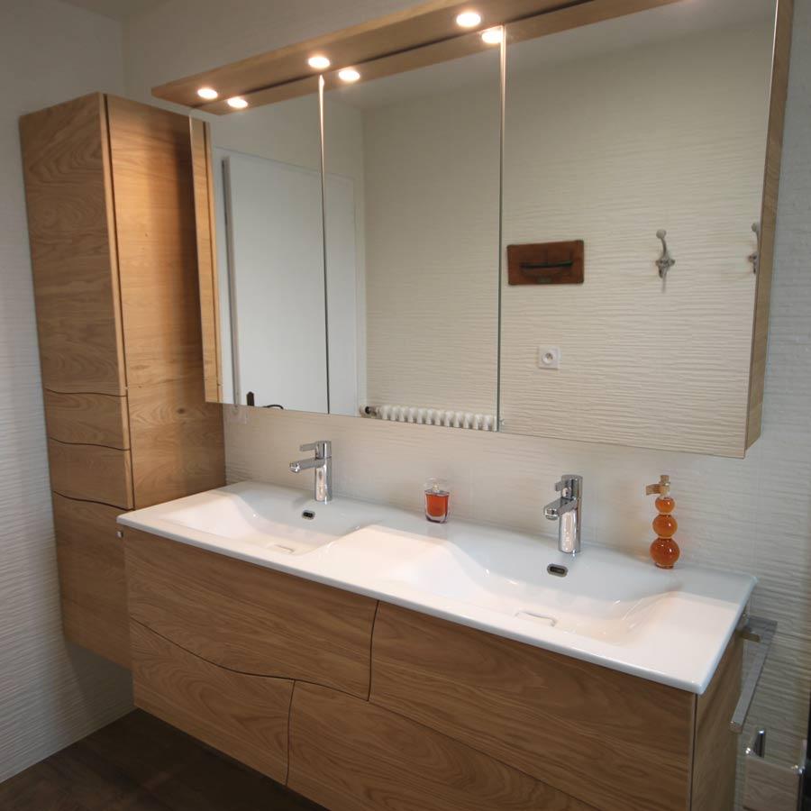 Atlantic Bain Morisseau Vertou lucas meuble salle de bain sur mesure bois massif   atlantic